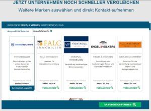Der Komparater zum Vergleich von Franchiseangeboten bei unternehmer-gesucht.com