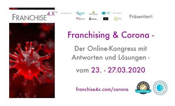 Online-Kongress zur Corona-Krise von Franchise 4.X